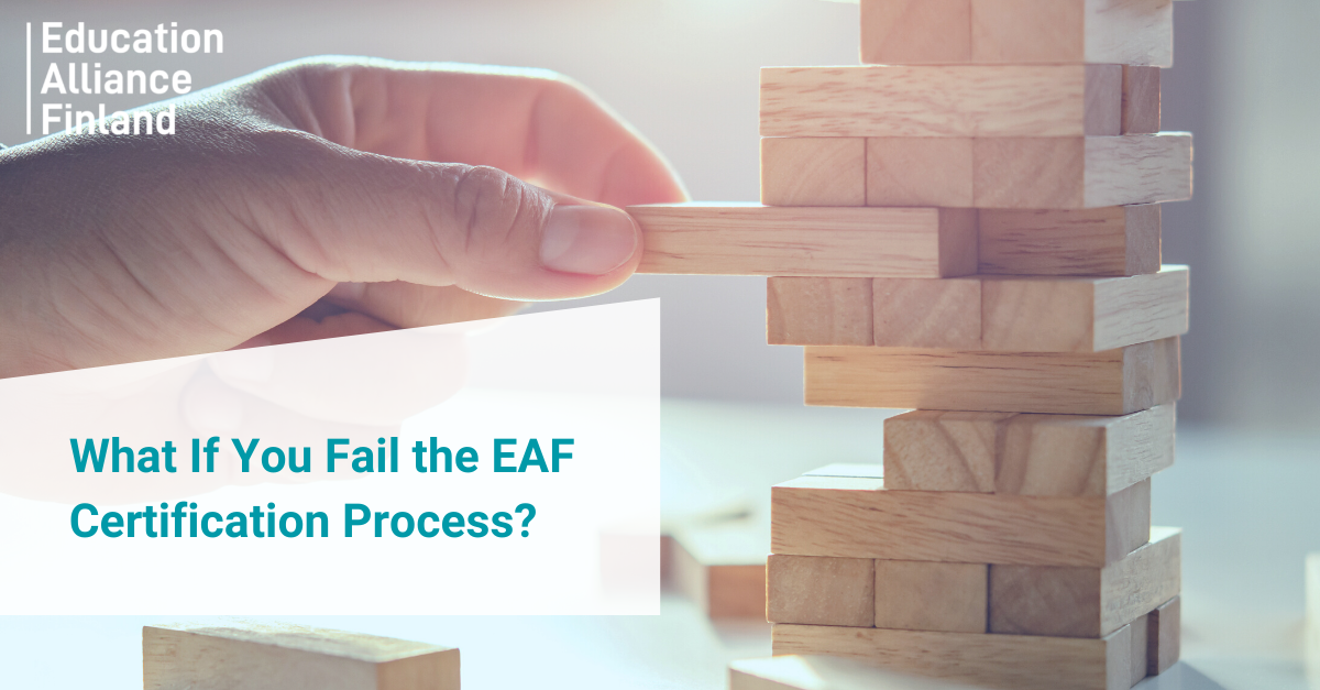 What If You Fail the EAF Certification Process?