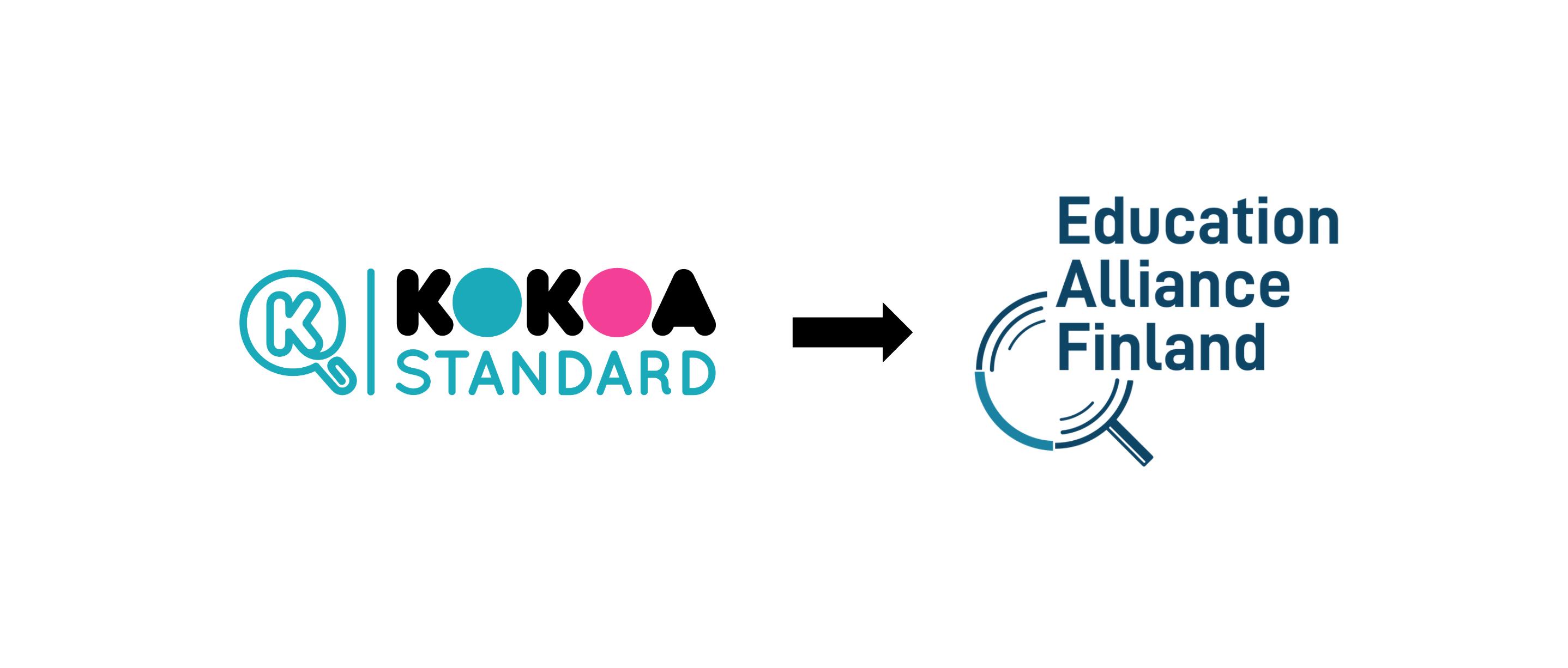 Kokoa Standard becomes Education Alliance Finland