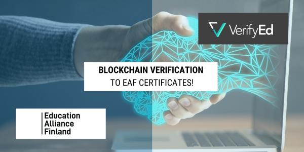 EdTech Certificate verified with Blockchain