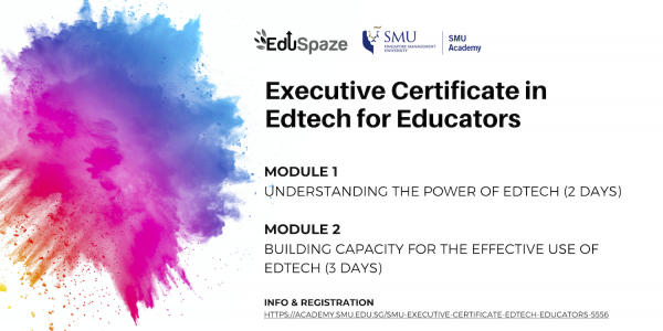 EdTech Certification for educators