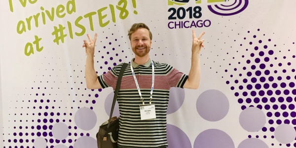 ISTE2018 Educational Technology fair in Chicago, USA