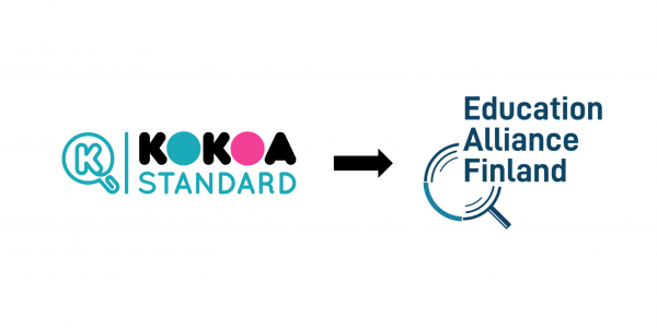 Kokoa Standard becomes Education Alliance Finland