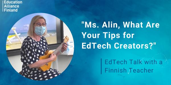 EdTech Talk with a Finnish Teacher