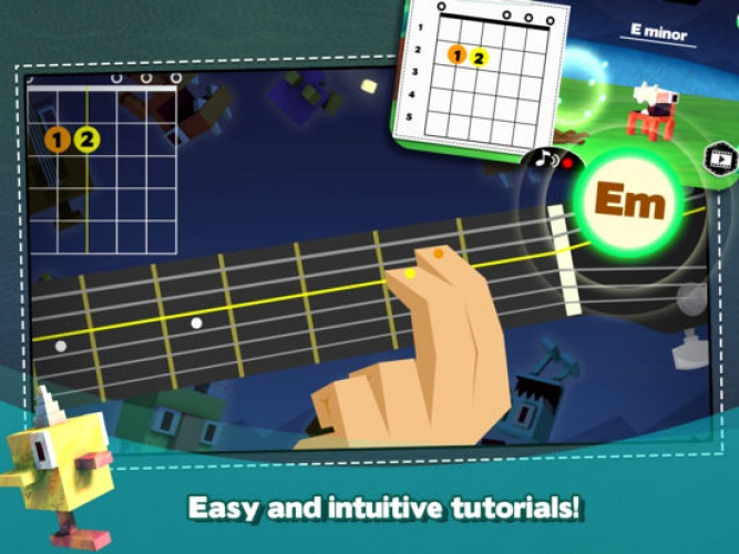 Monster Chords offers high quality demonstrations for learning the chords and tuning the instrument.