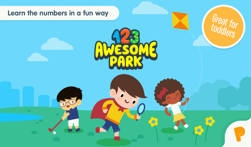 123 Awesome Park has a story that takes the child through the whole game. All the activities are linked to the story.