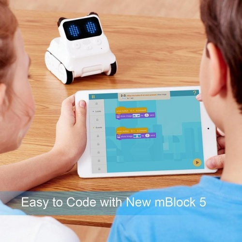 Cutting-edge technological features, such as IoT and Machine Learning features. mBlock 5 works as an ideal supplement to the mBlock app.