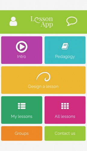 LessonApp is for designing quality lessons and learning about different teaching methods