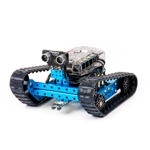 Makeblock provides a meaningful way to practice construction and programming with a modifiable robot.