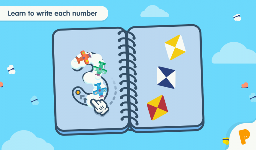 The product provides multiple ways to practice the connection between the number sign and the amount.
