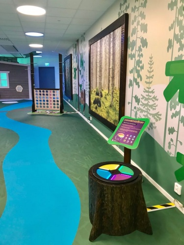 The Learning Forest lets kids practice basic cognitive and thinking skills freely as they explore the different activities.