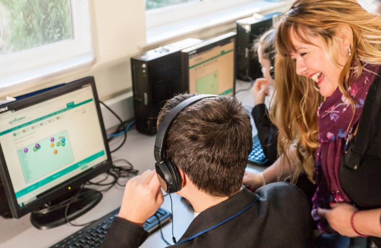 Spellzone offers a multimodal, gamified approach to learning.