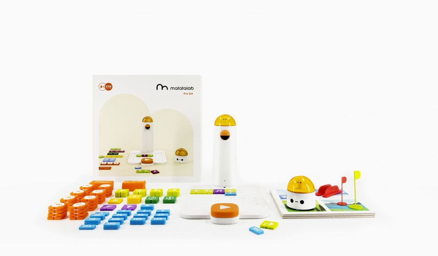 Matatalab is a set of tangible programming tools for young learners