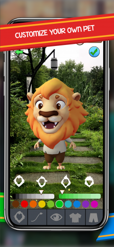 The app has broad customization options to make the game feel personal.