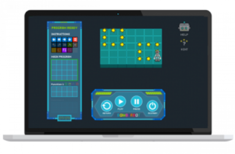 A student-centered tool for practicing scripting, coding and computational thinking through doing.