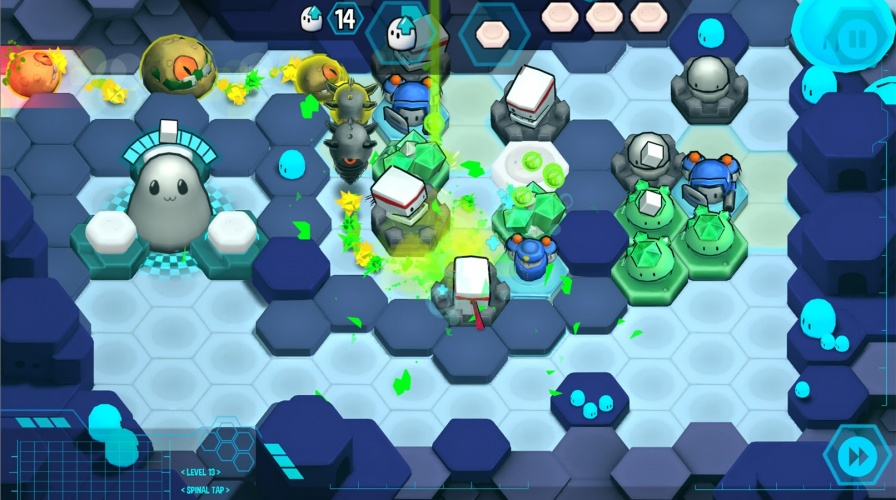 The game is an engaging and strategic tower defence game that offers challenge even for experienced gamers.