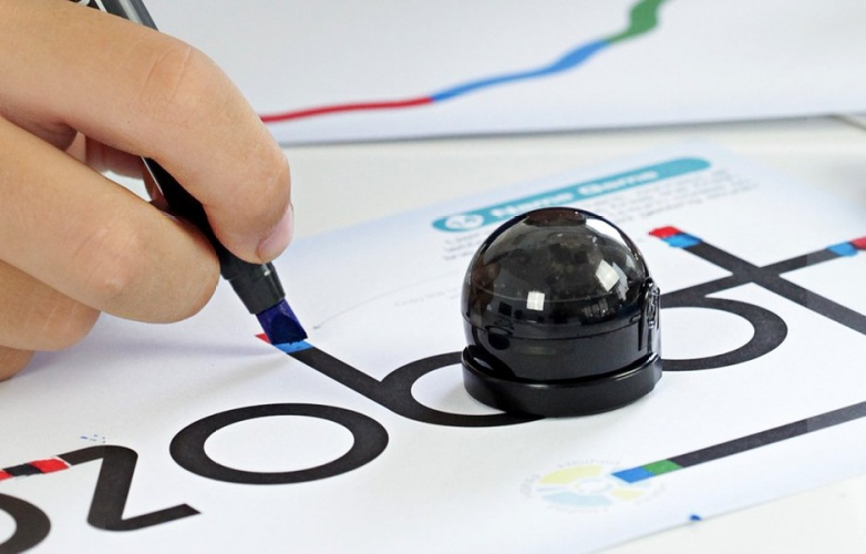 Ozobot is an engaging robot with easy-to-use apps.