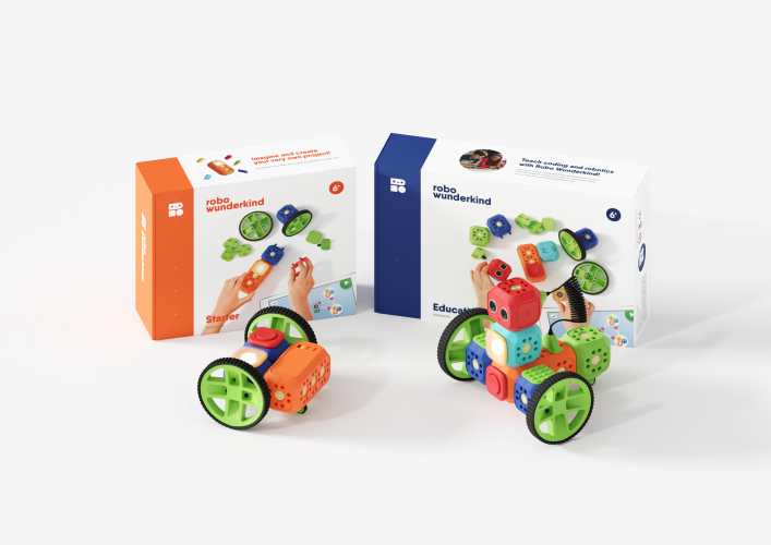 Robo Wunderkind offers modular robot kits for families and educational facilities