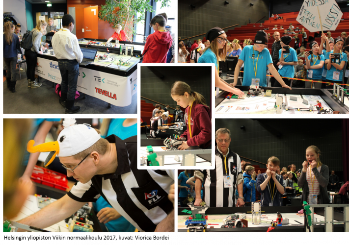 An adult coach will facilitate the team's work, but the teams will create their FLL-solutions themselves.