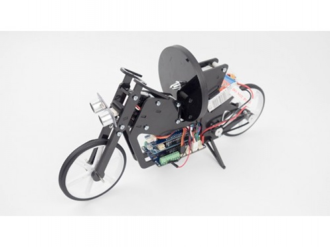 The projects are about creating programmable mechatronics projects from Arduino components.