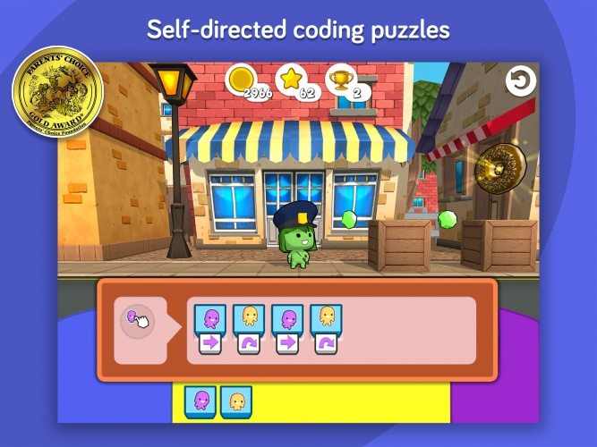 With codeSpark players can practice the basics of programming in a fun and engaging way.