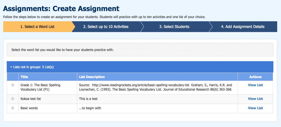 Teachers and parents are provided with comprehensive tools for keeping track of the students' progression.