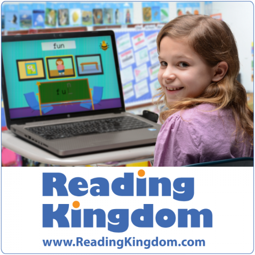 Reading Kingdom offers a personalized learning experience for both schools and homes.
