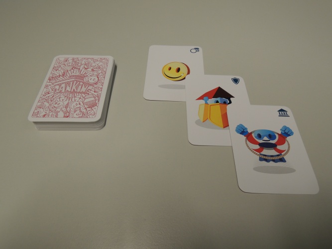 The game rules make the players interact and negotiate with each other. The game is fast-paced so you don't have to wait too much for your next turn.