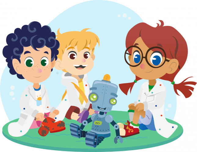 Kide Science has an engaging background story which motivates children and gives a reason and frame for the experiments.
