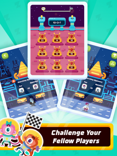 Multiplayer mode brings a social and competitive aspect for those who are willing to compete against other learners.